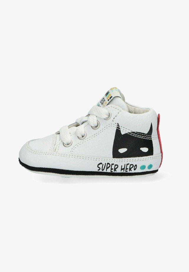 ZUKKE ZACHT - Sneakers hoog - white/black