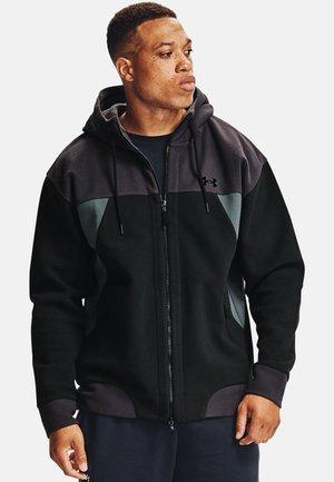 RECOVER FZ - Fleece jacket - black