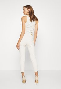 Mos Mosh - ETTA ZIP CREAM PANT - Slim fit jeans - ecru - 2
