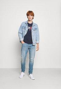 G-Star - 3301 SLIM - Slim fit jeans - azure stretch denim - 1