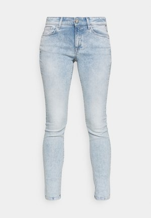 ROSE COLLECTION NEW LUZ PANTS - Jeansy Skinny Fit - super light blue