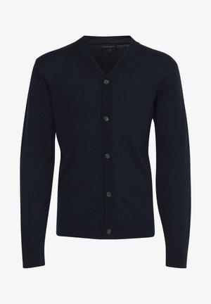 Cardigan - navy blazer