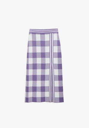 Pencil skirt - lilac