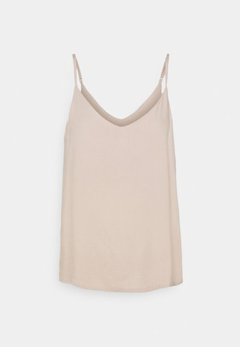 ASTRID CAMI - Top - taupe
