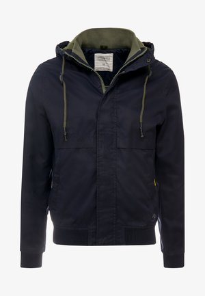 YOUNG CLASSIC HOOD - Summer jacket - blue