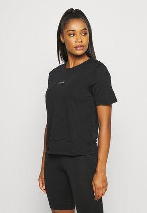 METEROA TEE - Basic T-shirt - black