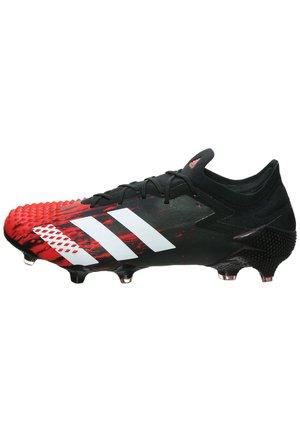 PREDATOR 20.1 L FG FUSSBALLSCHUH HERREN - Screw-in stud football boots - core black / footwear white / active red