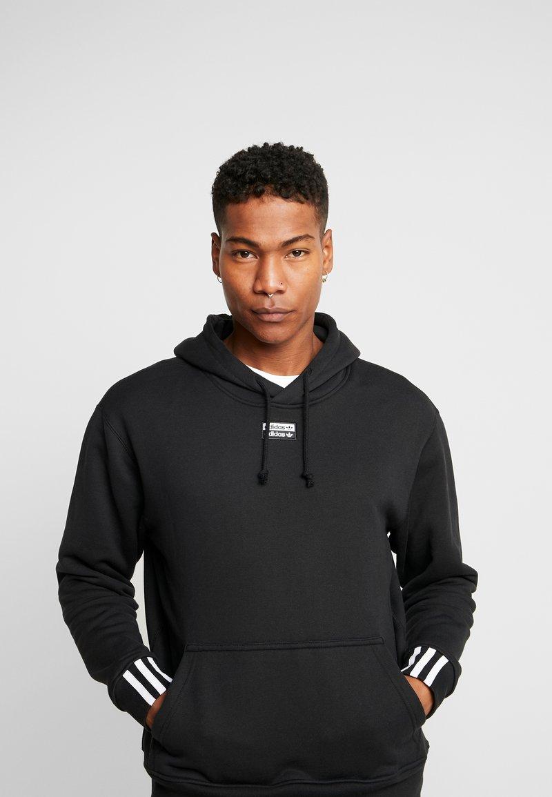 adidas Originals - HOODY - Bluza z kapturem - black