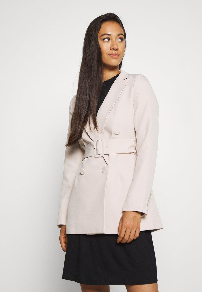 New Look - Short coat - stone