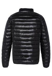 Schott - Winter jacket - shiny black - 1