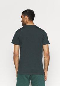 4F - T-shirt print - dark green - 2