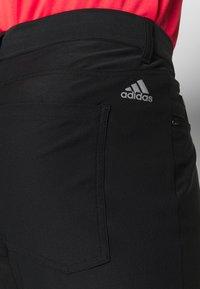 adidas Golf - Tygbyxor - black - 3