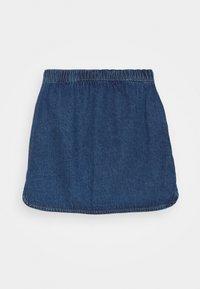 Benetton - ONLINE GIRL - Spódnica jeansowa - blue denim - 1