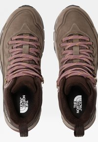 The North Face - VECTIV EXPLORIS MID FUTURELIGHT - Hiking shoes - BIPARTISAN BROWN/COFFEE BROWN - 2