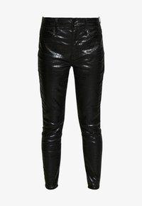 Frame Denim - LE HIGH CROC - Jeans Skinny - noir - 4