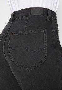 Lee - STELLA A LINE - Flared Jeans - captain black - 4