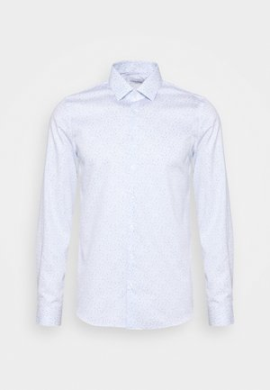 PRINTED EASY CARE SLIM - Camicia elegante - blue
