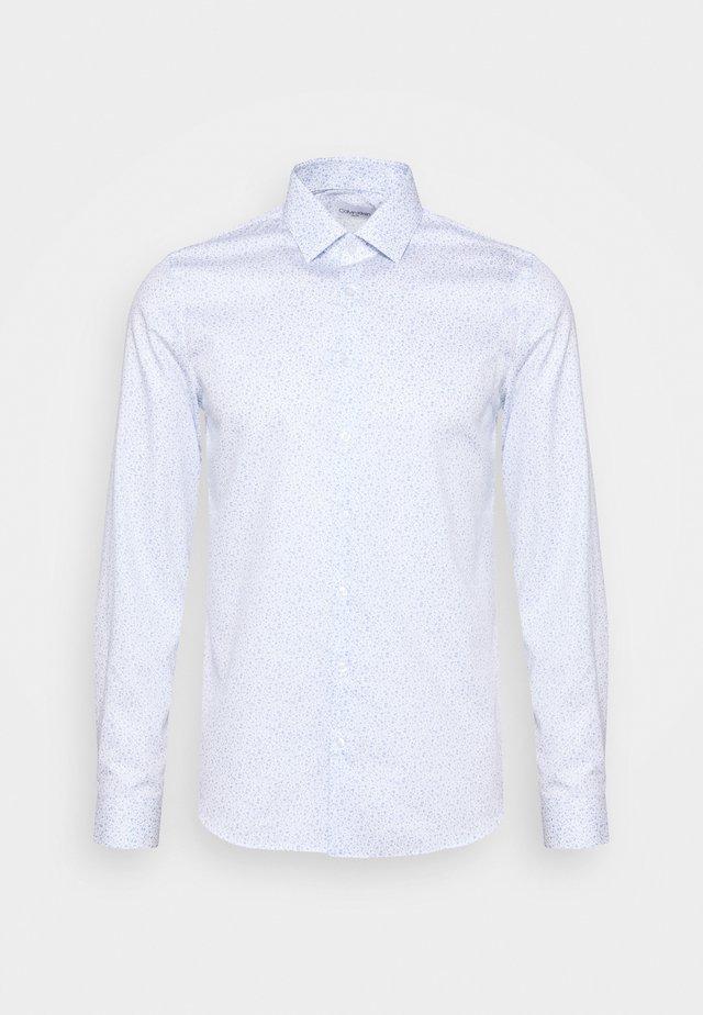 PRINTED EASY CARE SLIM - Camicia elegante - blue