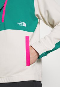 The North Face - GRAPHIC COLLECTION - Sudadera - vintage white/fanfare green/mr. pink - 5