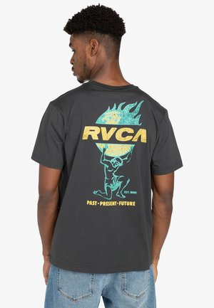 Print T-shirt - pirate black