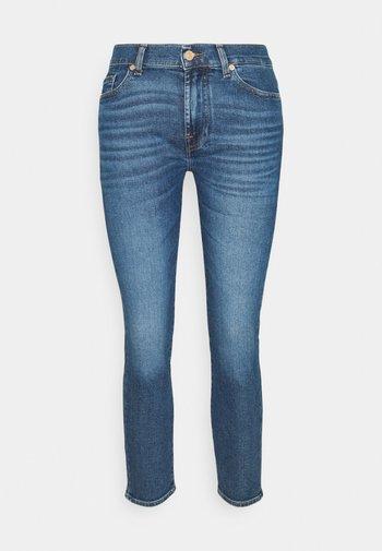 ROXANNE ANKLE LUXVINREJ - Slim fit jeans - mid blue