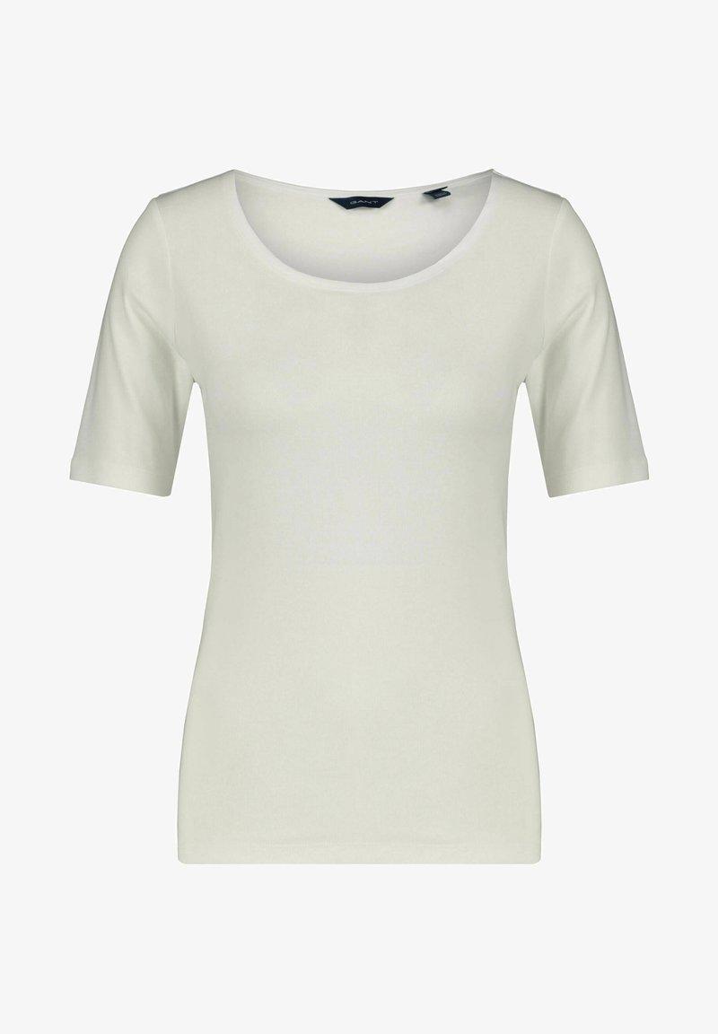 GANT - Basic T-shirt - weiss