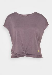 Deha - KNOT - Print T-shirt - purple gray - 0