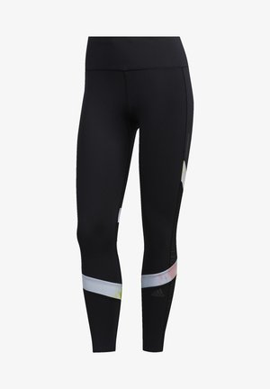 HOW WE DO SANTA MONICA 7/8 LEGGINGS - Legginsy - black