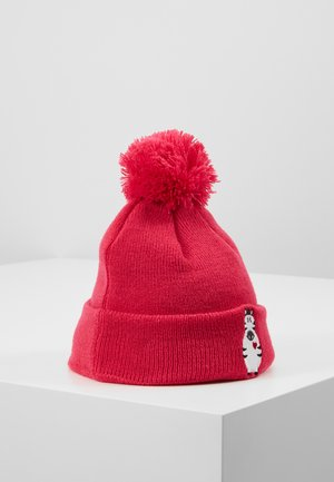 ANIMAL HEART CUFF - Beanie - red