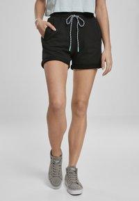 Urban Classics - FRAUEN  - Shorts - black - 0