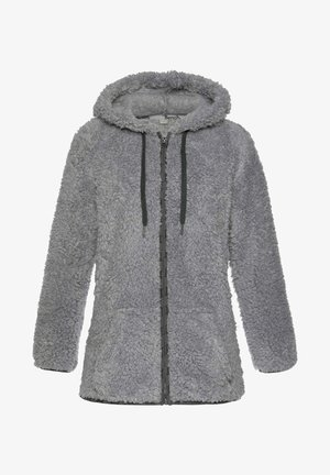 Fleece jacket - hellgrau
