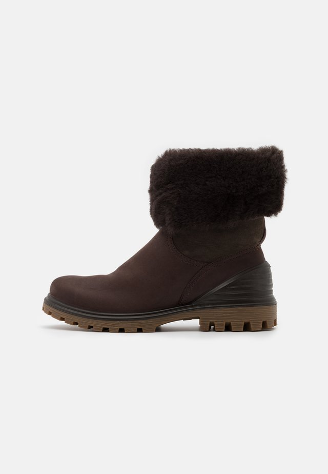 TREDTRAY - Botas para la nieve - dark brown