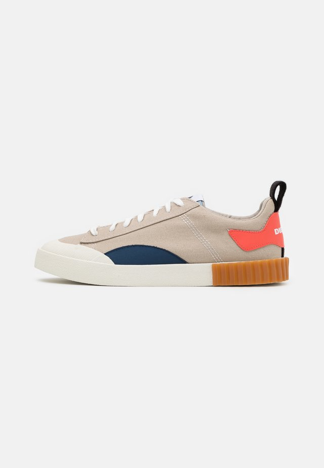 BULLY S-BULLY LC - Sneakersy niskie - beige/blue/apricot