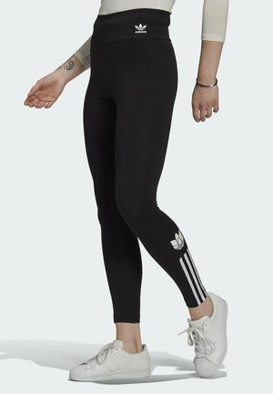 HW TIGHTS - Leggings - Hosen - black