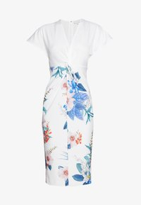 Ted Baker - NERRIS - Pouzdrové šaty - white - 4