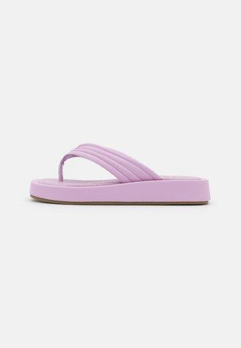 LITA - T-bar sandals - lila