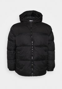 Jack & Jones - JJDREW PUFFER HOOD - Winter jacket - black - 3