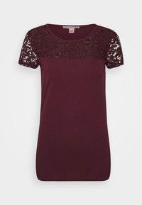 Anna Field - Print T-shirt - winetasting - 4