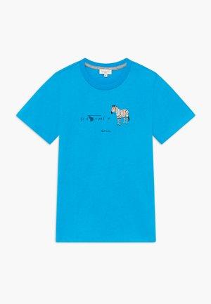 ABAN - Print T-shirt - blue danube