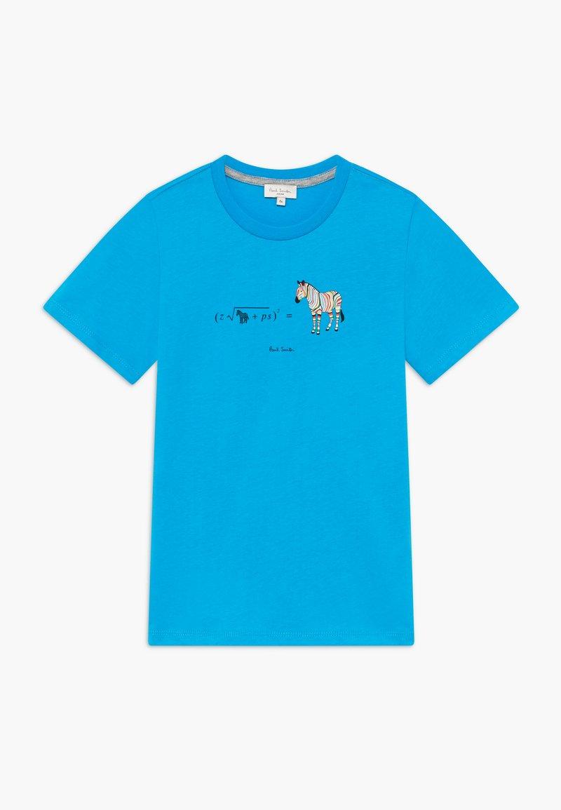 Paul Smith Junior - ABAN - Print T-shirt - blue danube