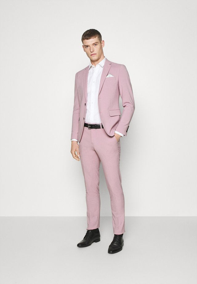 PLAIN MENS SUIT - Suit - purple