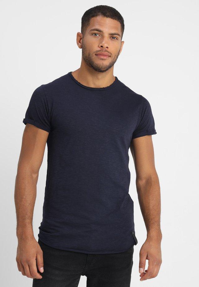 ALAIN - T-shirt basic - navy