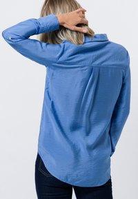 zero - Button-down blouse - viola blue - 2