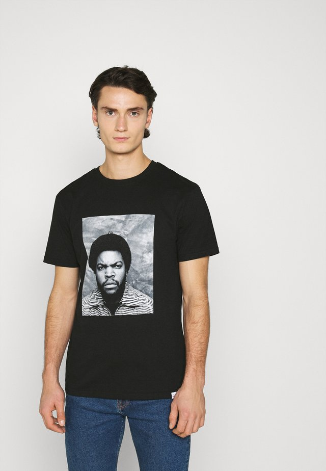 ICE CUBE - T-shirt med print - black