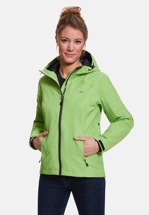 CLARA - Waterproof jacket - lemon green
