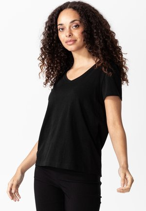 MATHILDA - T-shirt basic - black