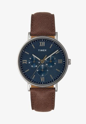 SOUTH VIEW MULTIFUNCTION 41 mm - Watch - silver-coloured/blue