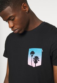 Hollister Co. - T-shirt print - black - 4