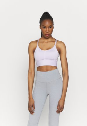 INDY BRA - Light support sports bra - infinite lilac/white