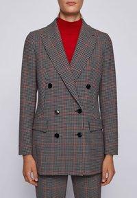 BOSS - Classic coat - patterned - 4